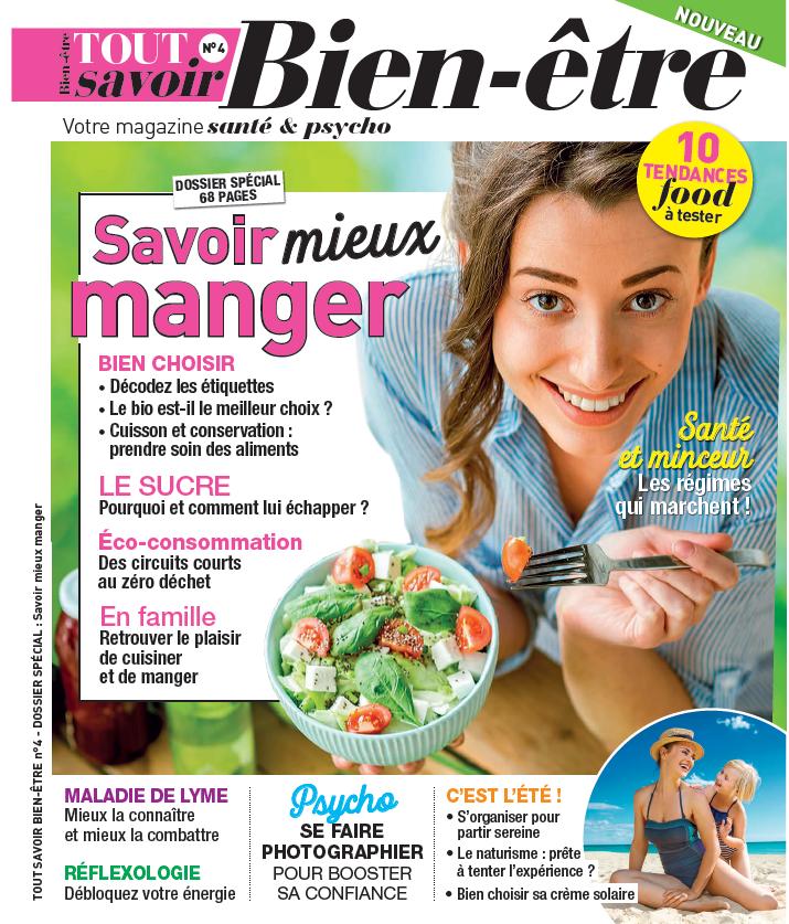 Couverture du magazine Tout savoir bien-être