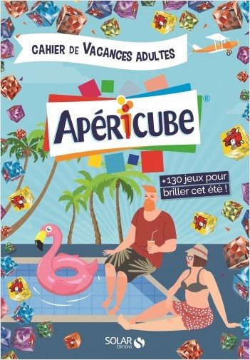 Couverture du cahier de vacances pour adultes Apéricube