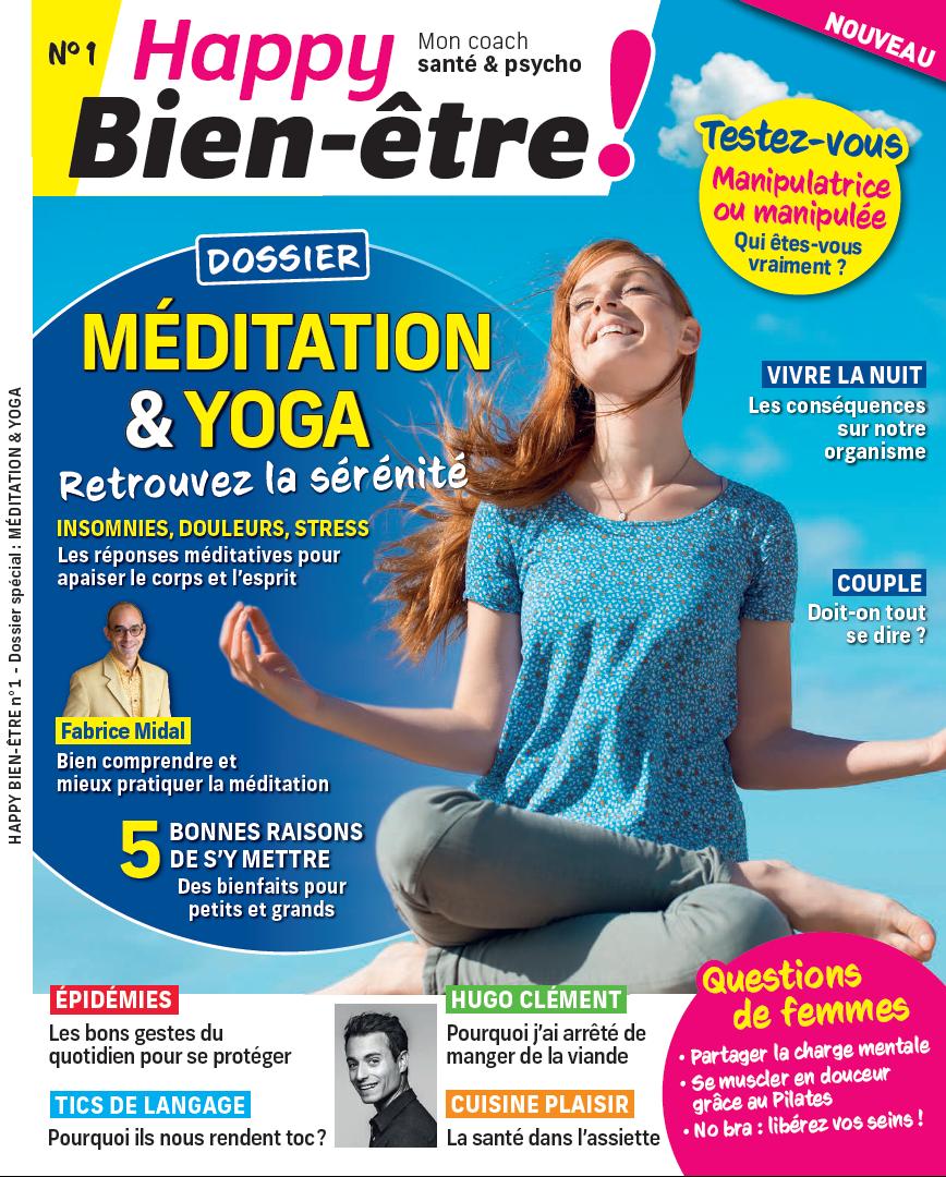 Couverture du magazine Happy Bien-être