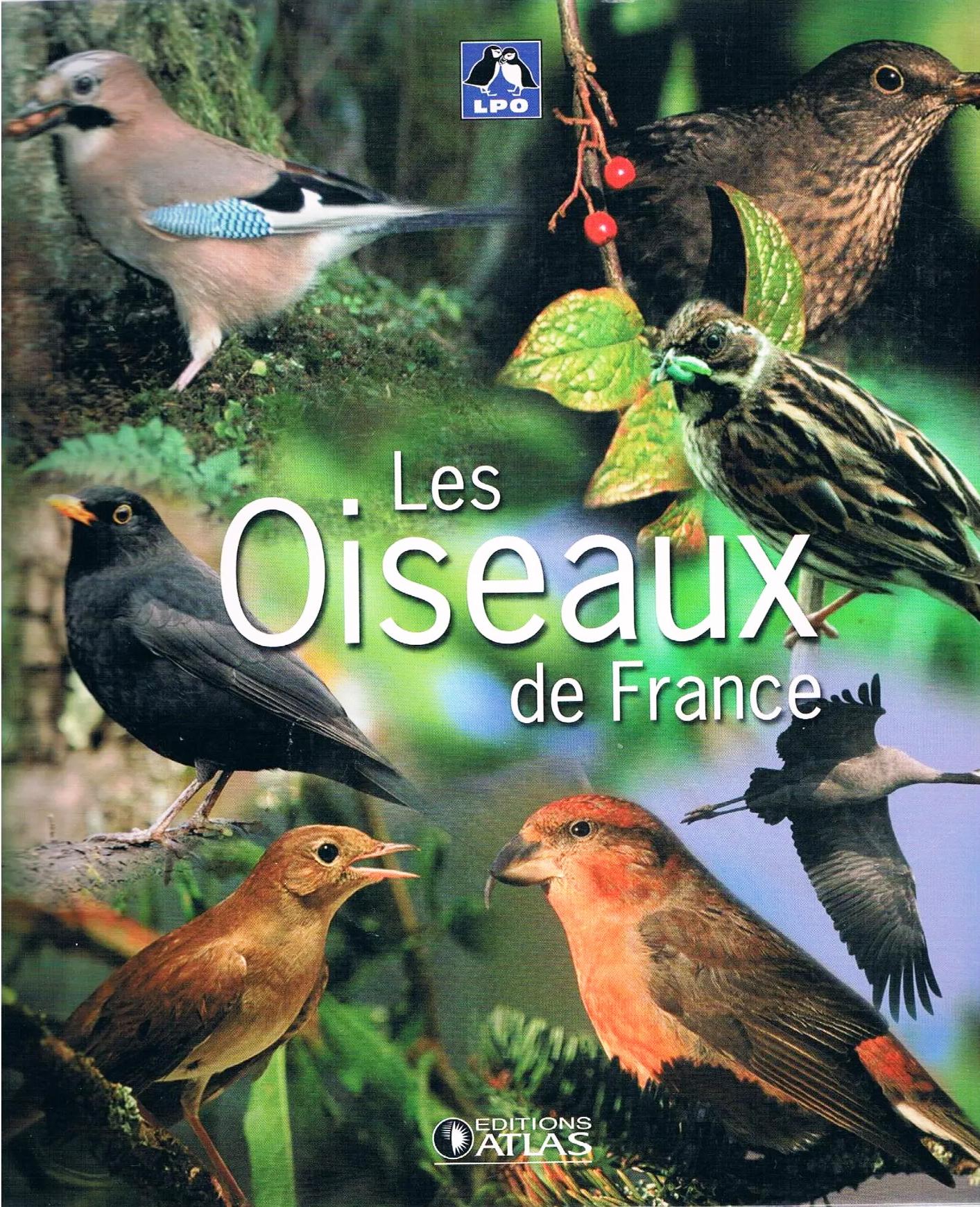 Couverture d'un livre sur les oiseaux de France