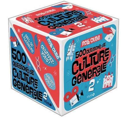 Visuel d'un rol'cube sur la culture générale