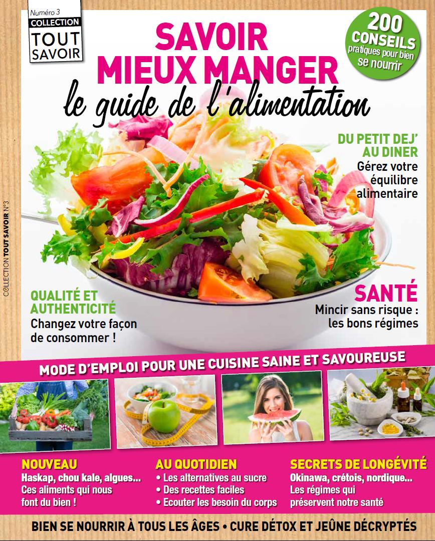 Couverture du magazine Tout Savoir sur l'alimentation