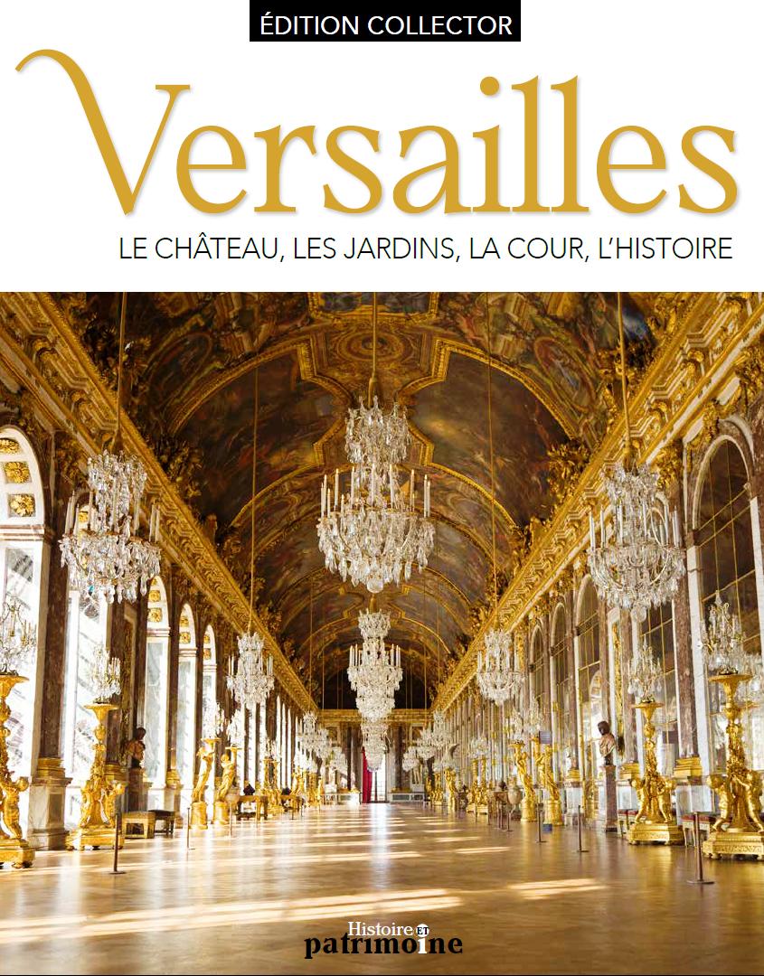 Couverture du beau livre sur le château de Versailles des éditions Diverti