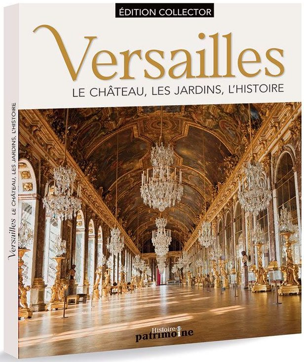 Couverture du beau livre sur le château de Versailles