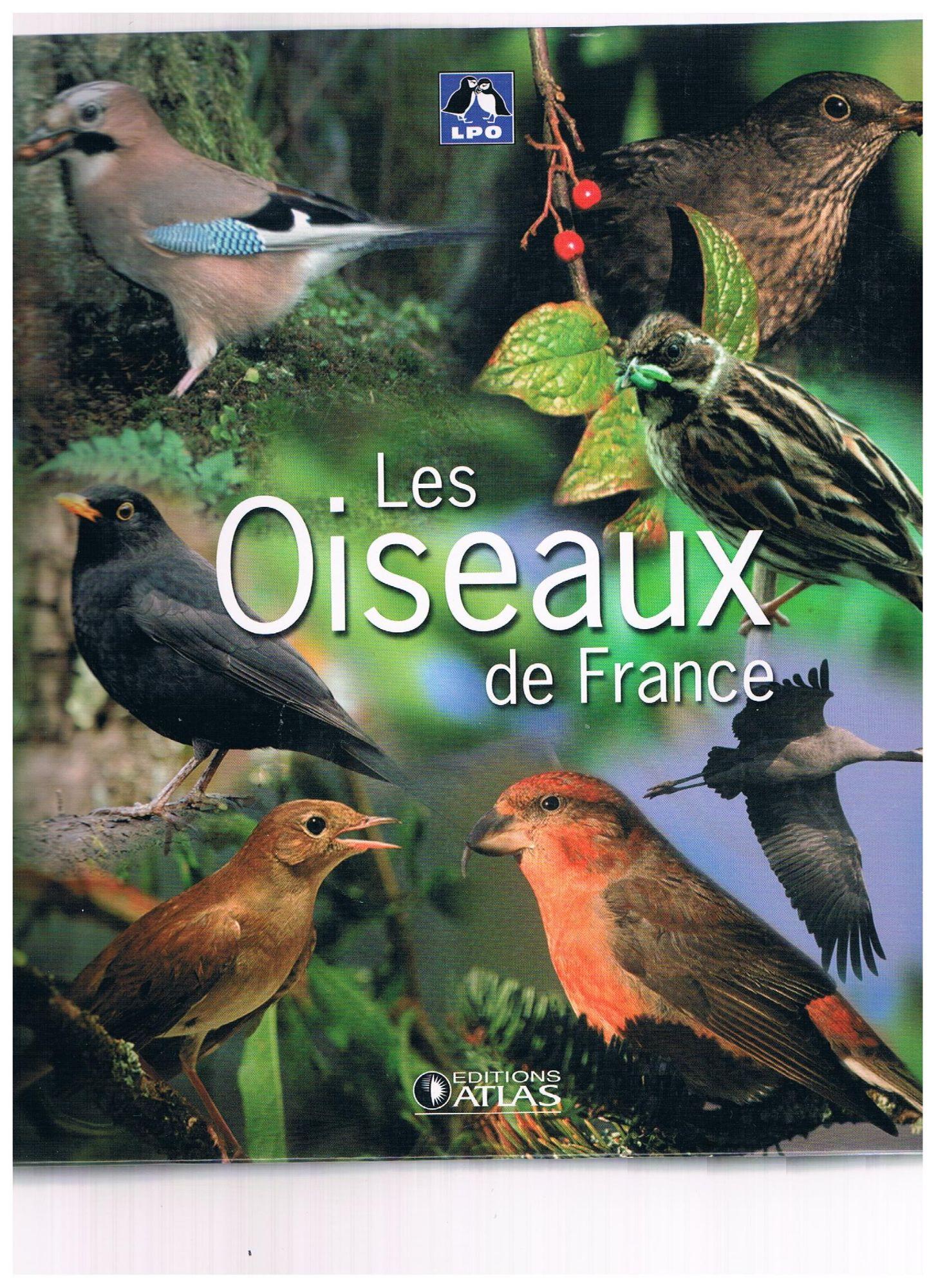 Couverture de la collection des oiseaux de France des éditions Atlas