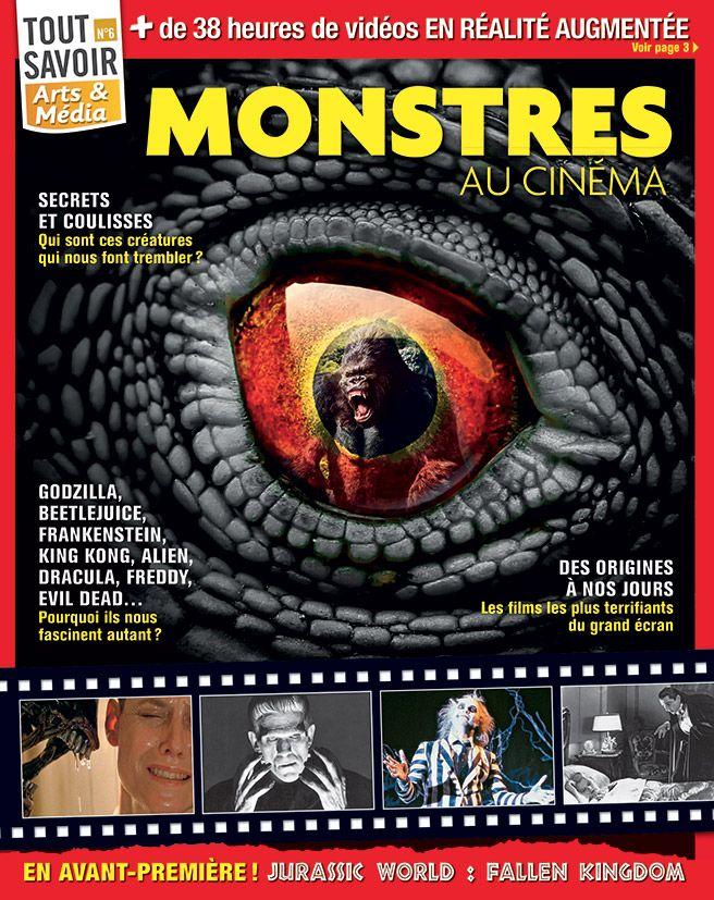 Couverture du magazine Des monstres au cinéma