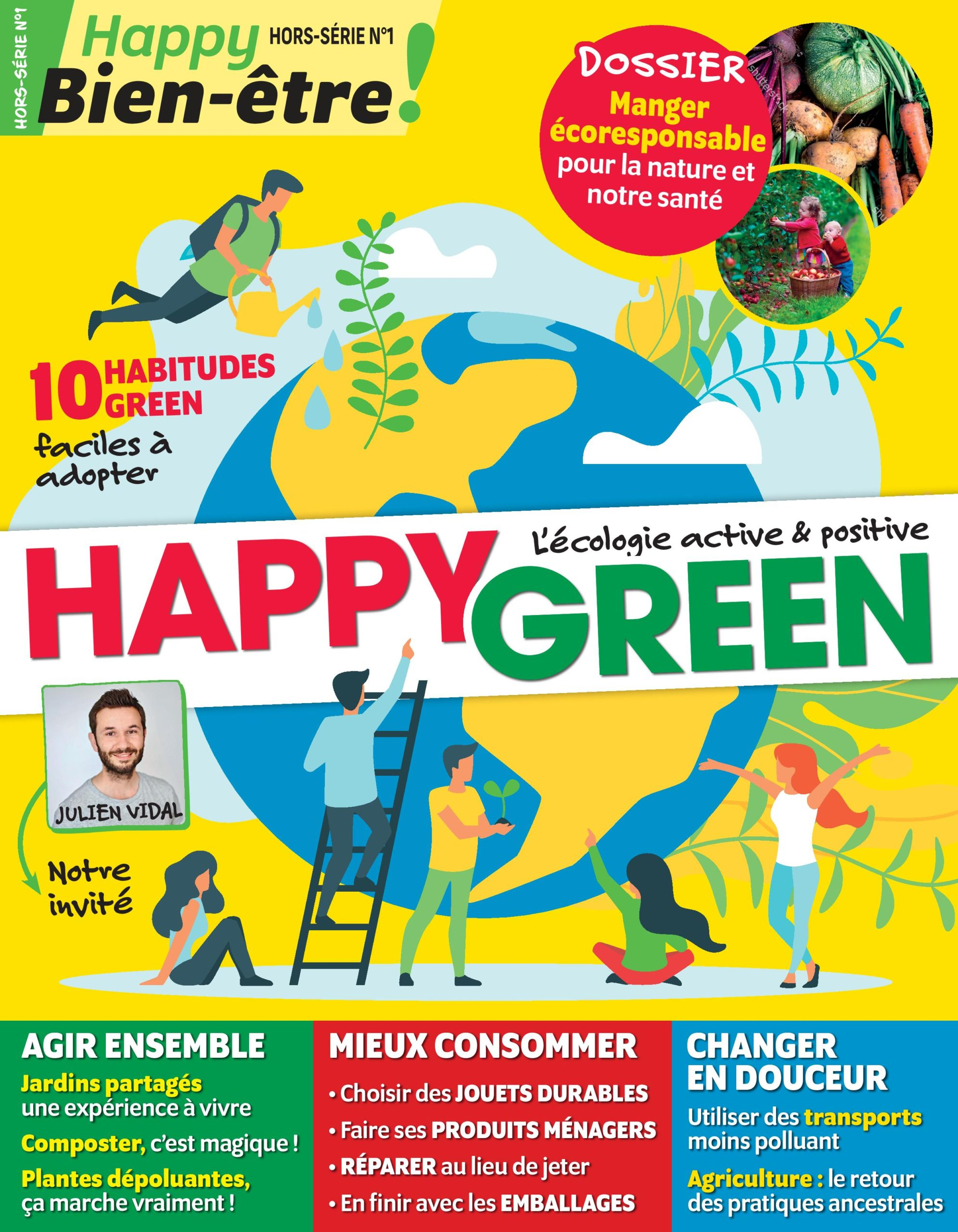 Couverture du magazine hors série Happy Green